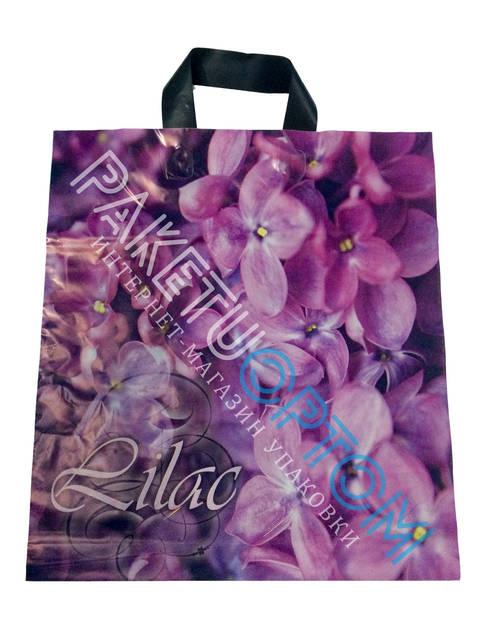 """Пакет с петлевой ручкой (пакет-петля) """"Lilac"""""""