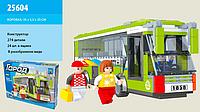 Детский конструктор для мальчиков Ausini Город (25604 ) Автобус 274 детали