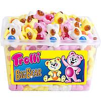 Жевательный мармелад Мишки Trolli Big Bear 150шт, 1.2 кг