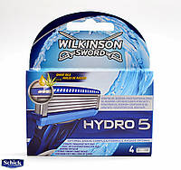 2)Картриджи Wilkinson Sword (Schick) HYDRO 5 производство Германия