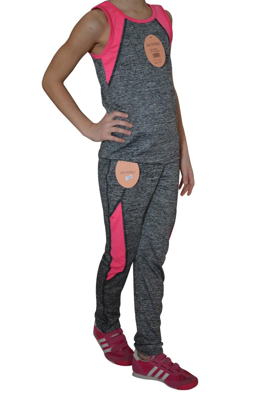 Спортивный костюм на девочку (T/00-3) | 6 пар
