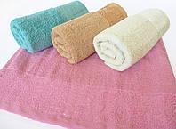 Махровое банное полотенце 140х70см (сад)