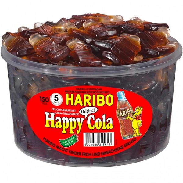 Жевательный мармелад Happy Cola Tin 1,2 кг