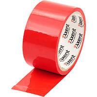 Лента клейкая упаковочная Axent 3044-A 48мм*35м, 40 мкм, красная  3044-06-A