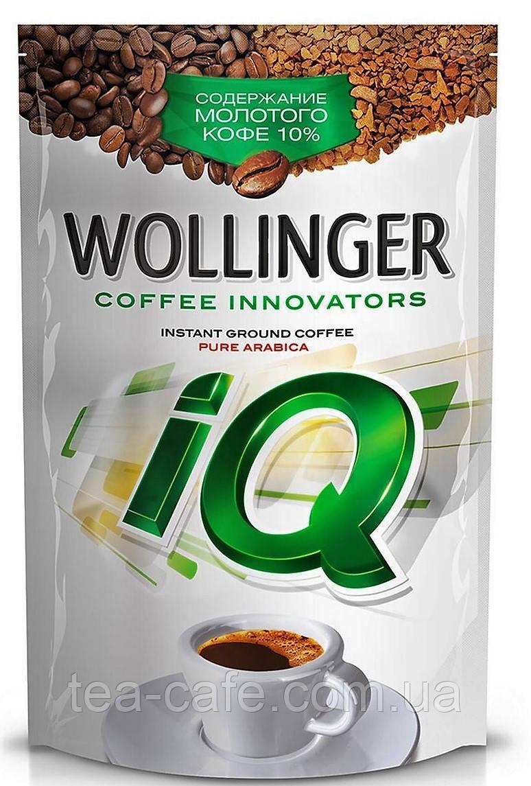 Кофе Wollinger IQ растворимый 190г. м/у