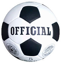 Мяч футбольный Official №5