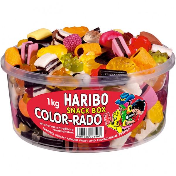 Жевательный мармелад Haribo Color-Rado Snack Box, 1 кг