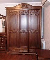 Спальня Орхидея ЮрВит (комплект) Шкаф 3 двери