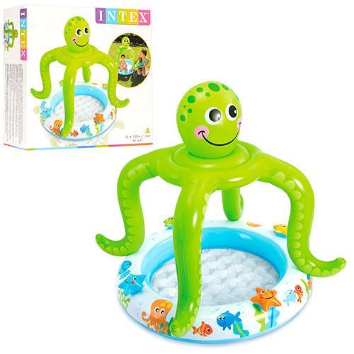 Бассейн детский надувной Intex 57115 рыбки
