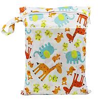 Удобные сумочки для сухих и мокрых вещей c двумя отделениями африка