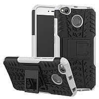 Чехол Xiaomi Redmi 4X / Redmi 4X Pro противоударный бампер белый