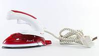 Дорожный  Утюг Ручной  Отпариватель с Насадкой Щеткой для Одежды Surge Steam JK 2158, фото 1