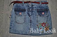 Джинсовая юбка для девочки Турция