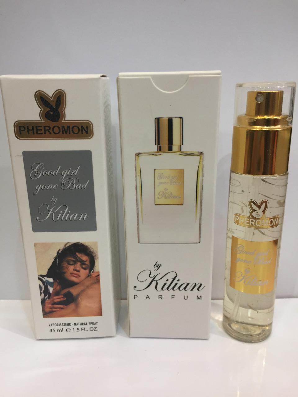 Мини парфюм женский с феромонами Kilian Good Girl Gone Bad (Килиан Гуд Гел Гон Бэд) 45 мл