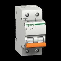 Автоматический выключатель BA63 2P 10A C, Schneider Electric