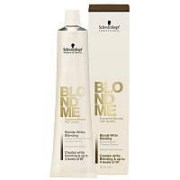 Осветляющая краска для седых волос SCHWARZKOPF Blond Me White Blending 60 мл