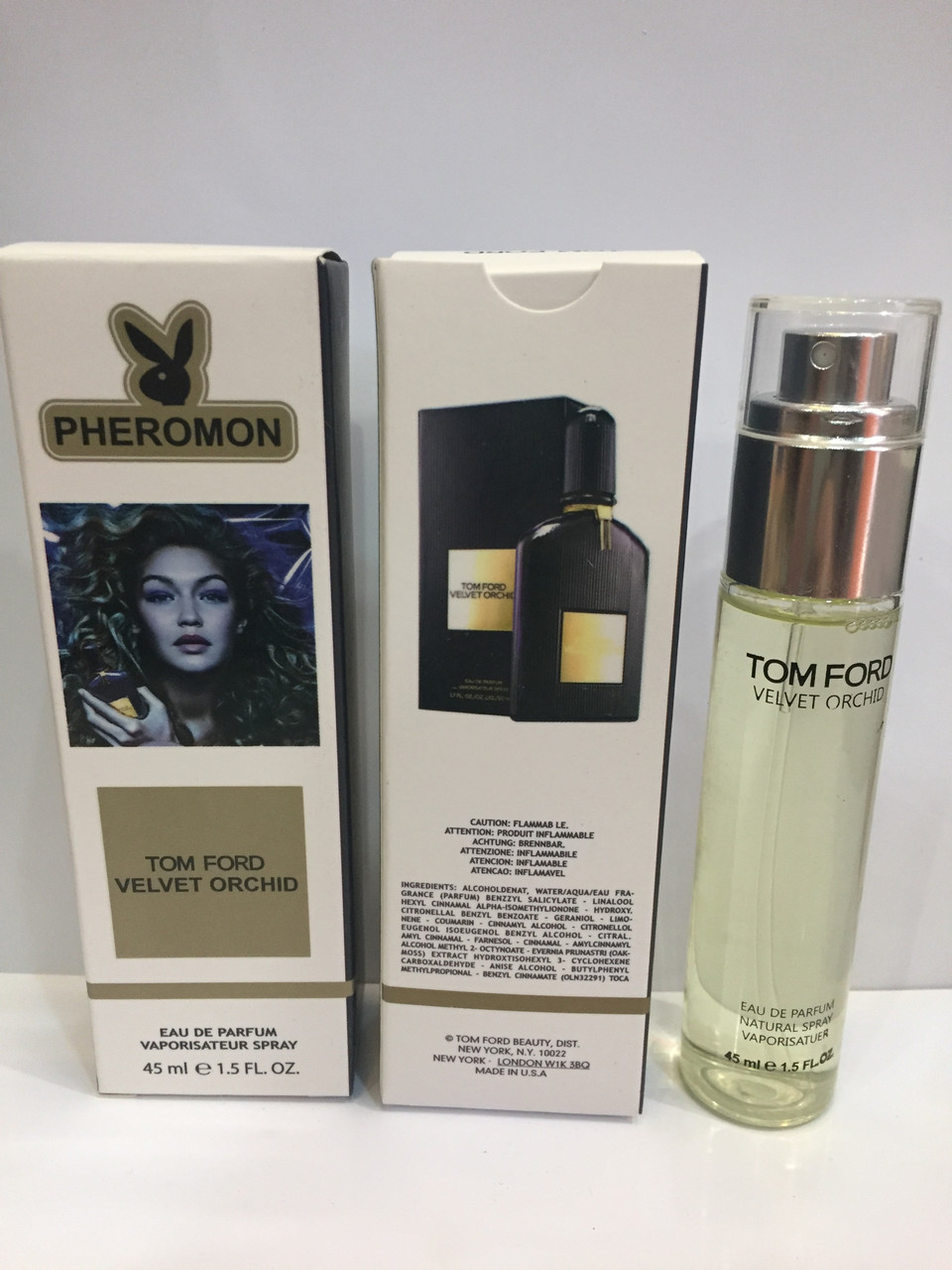 Мини парфюм женский с феромонами Tom Ford Velvet Orchid (Том Форд Вельвет Орхид) 45 мл