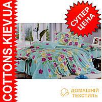 Комплект полуторного сатинового постельного белья ТМ Queensilk 1945