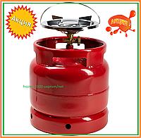 Горелка газовая с баллоном 15 л Rudyy RK-1 Туристический 2,5 кВт горелка для рыбаков туристов