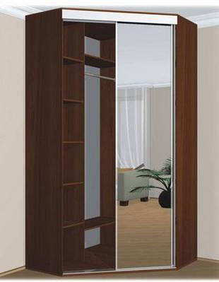 Шкаф купе угловой в детскую комнату Влаби 110х110х210