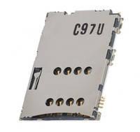 Разъем SIM-карты для Samsung P1000 Galaxy Tab/P3100/P3110/ P6200/P7100/N8000/i5700/S5620