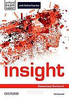 Рабочая тетрадь с онлайн практикой insight Elementary, Jayne Wildman | Oxford ()