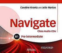 Аудио-диски Navigate B1 Pre-intermediate, Caroline Krantz | Oxford