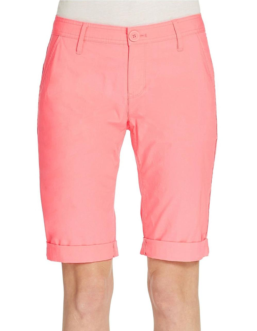 Шорты DKNY Jeans, Coral