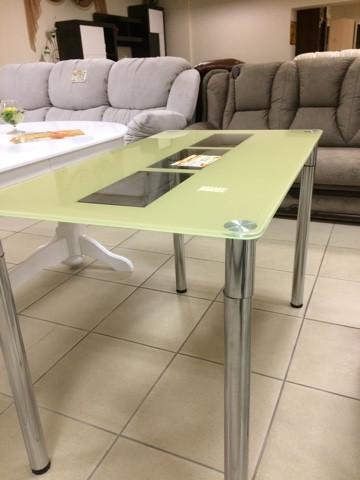 Стеклянный стол 5-5-1-1