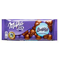 Шоколад молочный Milka Bubbly Alpen Milk 100 гр.