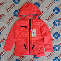 Куртка демисезонная на девочку подросток MHM однотонная подкрадка, фото 1