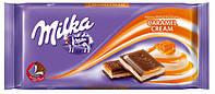Молочный шоколад Milka Caramel Cream, 100 гр.