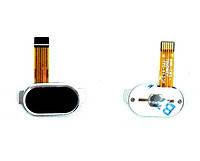 Шлейф (Flat cable) Meizu M3 с кнопкой Home. черный