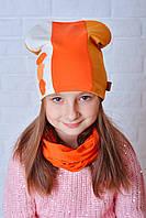 Детская шапочка Бетти оранжевый
