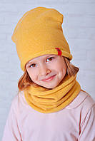 Шапочка для девочки Мадлен желтый