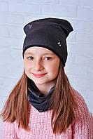 Красивая детская шапка Клео 50