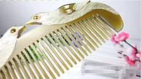 Расческа для волос из кости Утки мандаринки
