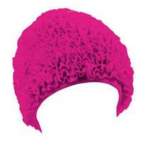 Шапочка для плавания BECO 7611 4 женская полиэстр розовая