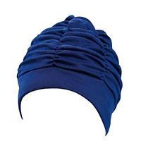 Шапочка для плавания BECO 7550 6 женская полиэстр светло-синяя