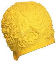Шапочка для плавания BECO 7350 2 латекс желтая
