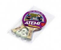 Набор для настольного тенниса Atemi Tandem (2р+3м)