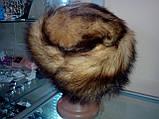 Меховая шапка из хорька, фото 3