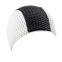 Шапочка для плавания BECO 7330 10 бело-черная