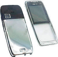 Корпус Nokia E51. бело-серебристый