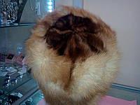 Меховая шапка из натуральной куницы, фото 1