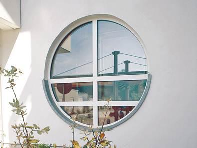 круглые пластиковые окна Одесса