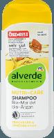 Alverde шампунь для глубокого восстановления волос Nutri-Care-Shampoo Mandel Argan 200ml