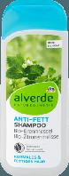Alverde шампунь для жирных волос Anti-Fett-Shampoo 200ml