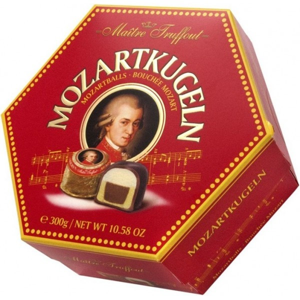 Конфеты Maitre Truffout Mozartkugeln марципаны, 300 г