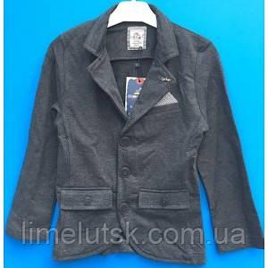3716c55e80c Модный трикотажный пиджак для мальчика 5-7 лет  продажа